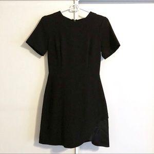 Topshop Black Cocktail Dress